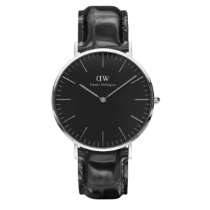 Classic Black Reading Silver 40 mm