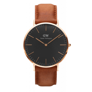 Classic Black Durham Rose Gold 40 mm