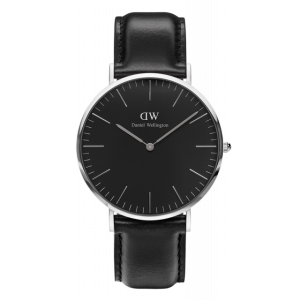 Classic Black Sheffield Silver 40 mm