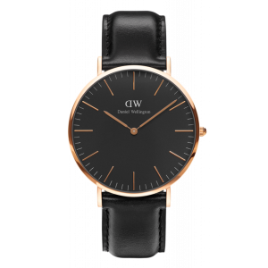 Classic Black Sheffield Rose Gold 40 mm