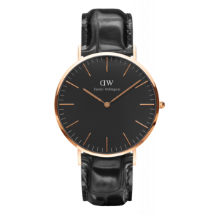 Classic Black Reading Rose Gold 40 mm